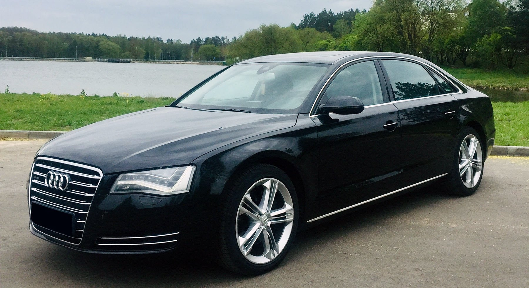 Audi A8 Long for comfort