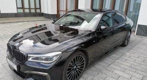 Аренда BMW 7 G12