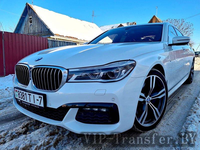 Аренда BMW 7 G12 Long M-Paket 2017